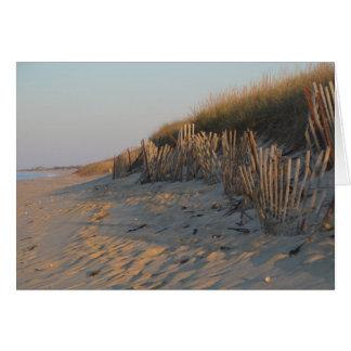 Beach Fence Card