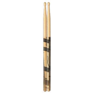 beach fence drum sticks
