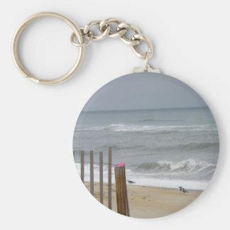 Beach Fence - Keychain