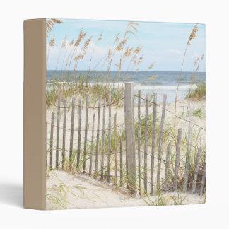 Beach Fence Vinyl Binder