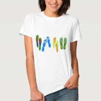 Beach Flip Flops Tee Shirts