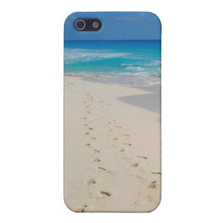 beach footprints case for the iPhone 5