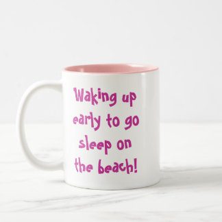 Beach Freaks Flip Flops Mugs