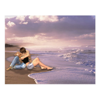 Beach From Here to Eternity Postcard