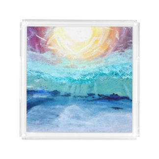 Beach Fun!  Acrylic Serving Tray