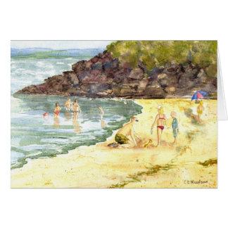 'Beach Fun' Card