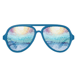 Beach Fun! Party Sunglasses in Blue