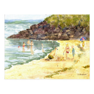 'Beach Fun' Postcard