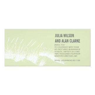 Beach Grass Wedding Invitations Martha's Vineyard