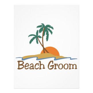 Beach Groom Letterhead