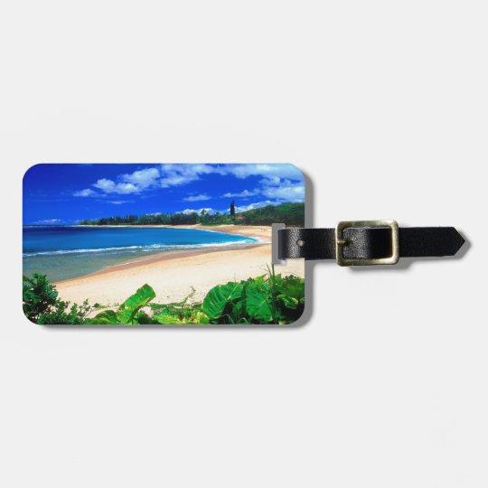 Beach Haena Kauai Hawaii Luggage Tag