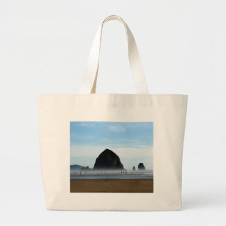 beach haze large tote bag