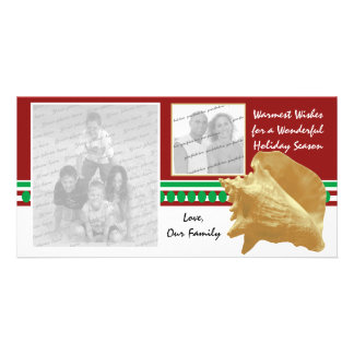 Beach Holiday Personalized Photo Card
