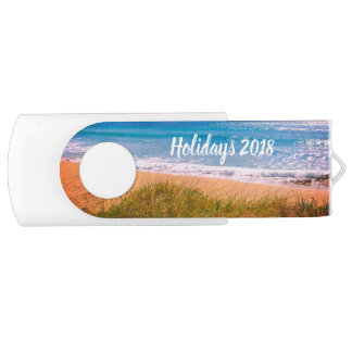 Beach Holidays USB Flash Drive