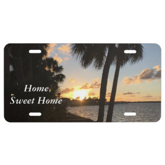 Beach Home License Plate