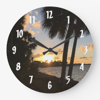 Beach Home Sweet Home Clocks
