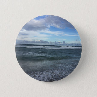 Beach Horizon 2 Inch Round Button
