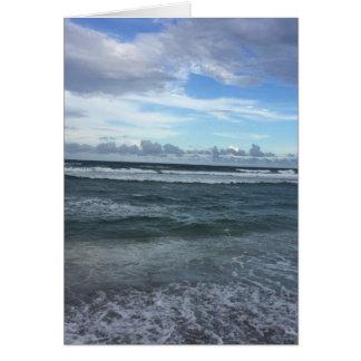 Beach Horizon Card