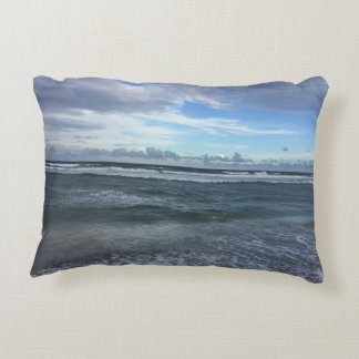 Beach Horizon From Shore To Sky Accent Pillow