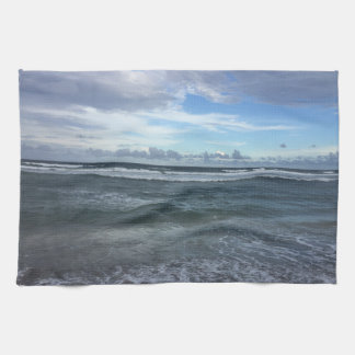 Beach Horizon From Shore To Sky Kitchen Towel
