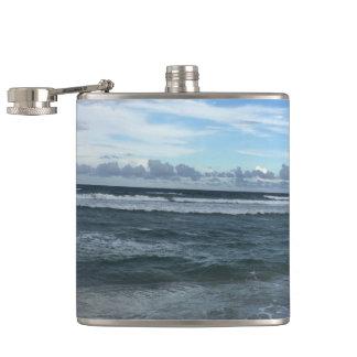 Beach Horizon Hip Flask