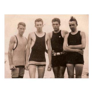 Beach Hotties 1905 Postcard
