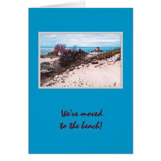 Beach house card