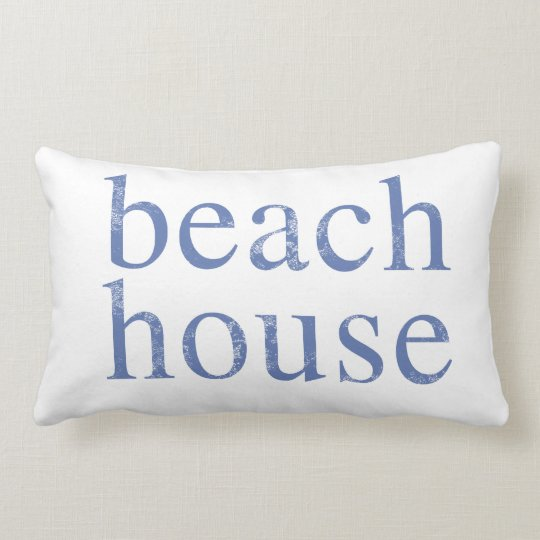 Beach House Distressed Pillow