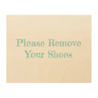 Beach House Please Remove Your Shoes Sign