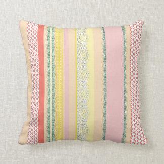 Beach House Sunny Afternoon Throw Pillow