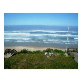 Beach House Wish You Were Here Postcard