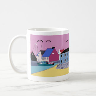 beach hut 2 coffee mug