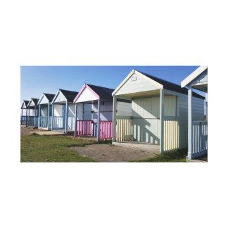 Beach Hut / Seaside Canvas