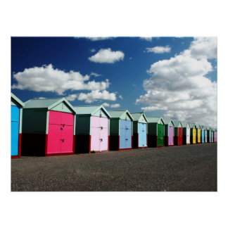 Beach Huts 2 Poster