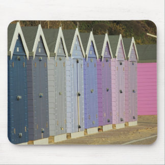Beach huts mousemat mouse pad