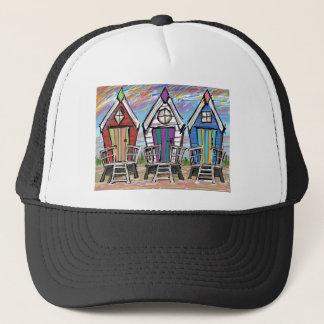 Beach Huts RWB Trucker Hat
