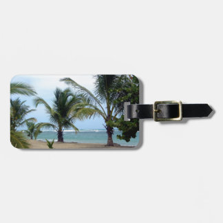 Beach in Dominican Republic Luggage Tag