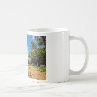 Beach in Hawaii Coffee Mug