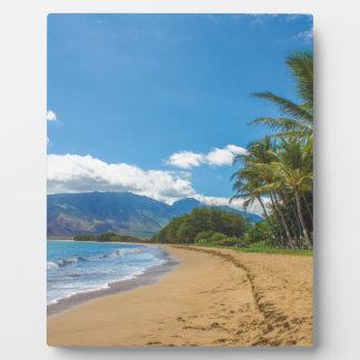 Beach in Hawaii Plaque