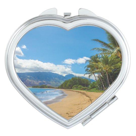Beach in Hawaii Travel Mirror