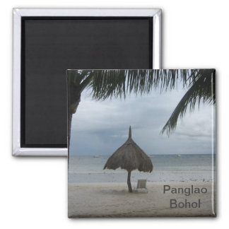 Beach in Panglao Magnet