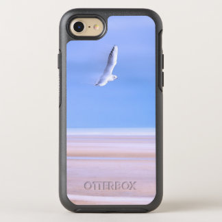 Beach in Pastels Seagull in Flight OtterBox Symmetry iPhone 8/7 Case