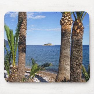 Beach in the Albir, Altea, Alicante, Spain Mouse Pad
