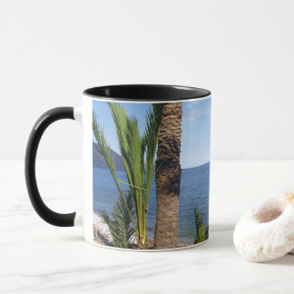 Beach in the Albir, Altea, Alicante, Spain Mug