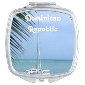 Beach in the Dominican Vanity Mirror