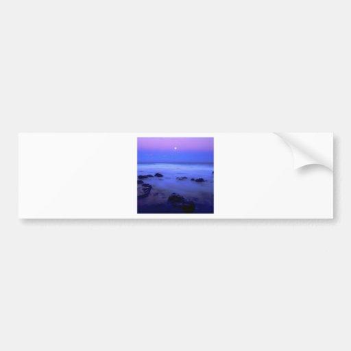 Beach Island Mist Bumper Sticker