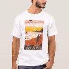Beach & Kites - Lincoln City, Oregon T-Shirt