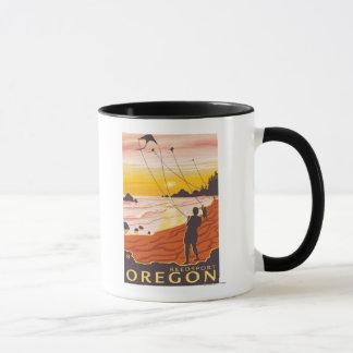 Beach & Kites - Reedsport, Oregon Mug