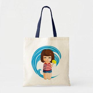 Beach Kokeshi Bag