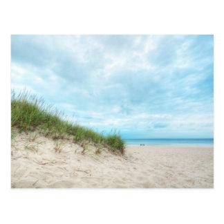 Beach Lake Michigan Landscape Seascape Postcard